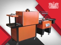 Shrink packaging machine sewing four sides